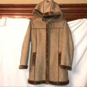 Other - Cherokee Khahi Winter Coat w Fur Trim Girls Medium